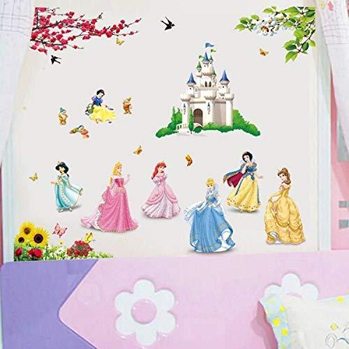 Adesivi Murali Principesse Disney.Catalogo Prodotti Kibi Store 2019