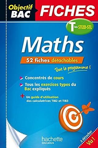Fiches détachables Maths Terminales STI2D-STL