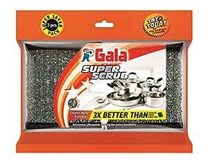 Gala Super Scrub Set (Black, 2 Pieces) (Sample)