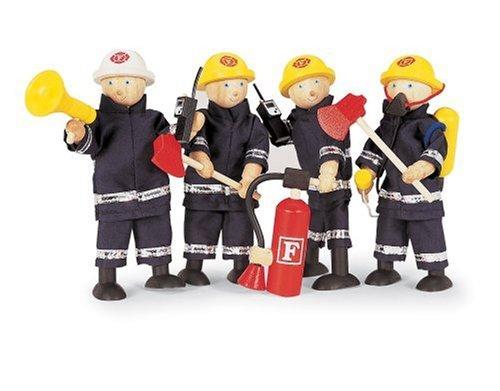 Preisvergleich Produktbild Biegepuppen Feuerwehrmänner