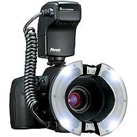 Nissin Macro MF 18 - Flash para Nikon, negro