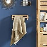 Unbekannt Tikamoon KAYU Tür Handtuch, Teak, beige, 40x 17x 12cm