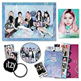 ITZY 1st Album - IT'Z ICY [ ICY ver. ] CD + Photobook + Photocards + IT'Z DIFFERENT BOOKLET&PHOCARD + POSTCARD SET + 2TZY STICKER + OFFICIAL POSTER + FREE GIFT