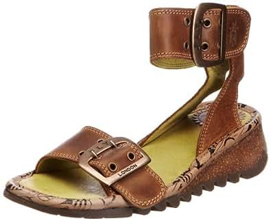 Fly London Tora, Women's Sandals, Camel, 5 UK