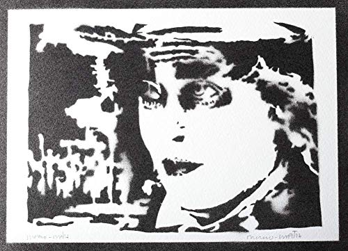 Mad Hutter Poster Plakat Handmade Graffiti Street Art - Artwork Tasse Pearl
