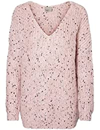 Vero Moda Womens Miffy L/S V-Neck