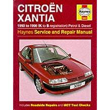 Citroen Xantia (1993-98)Service and Repair Manual (Haynes Service and Repair Manuals)