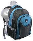 Laptop Rucksack Schulrucksack Schulranzen Schultasche A4 15 Zoll in 5 Farben (türkis)