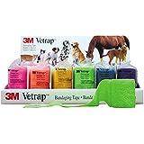 3M Vetrap Vendas de colores brillantes, 10cm; paquete de6vendas