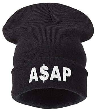 Beanie Hats - Bonnet -  Homme Noir asap black