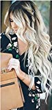 Ugeat 18Zoll/45cm Tresse Haarverlangerung Haar 100g/pack Echthaar Extensions #2/60 Blonde Weaving Extensions