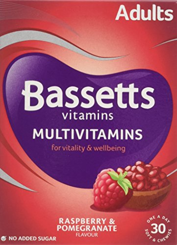 Bassetts Raspberry and Pomegranate Adult Multivitamin Chewies - Pack of 30