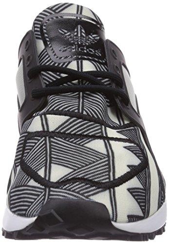adidas Racer Lite Damen Sneakers Schwarz (Core Black/Core Black/Off White)
