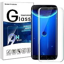 Glaxy S7 Edge Protector de pantalla, Samsung S7 Edge vidrio templado, 9H pantalla completa cobertura S7 Edge Cristal protector de pantalla para Samsung Glaxy S7 Edge (Samsung Galaxy S7 Edge)