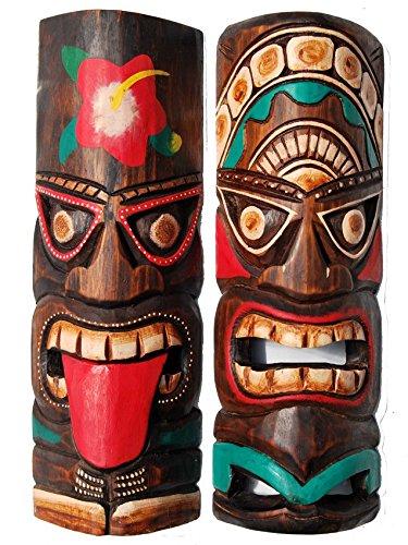 ndmaske Tiki Board Hawaii Holzmaske ()