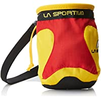 La Sportiva Chalk Bag Testarossa Mochila, Unisex Adultos, Amarillo (Testarossa)