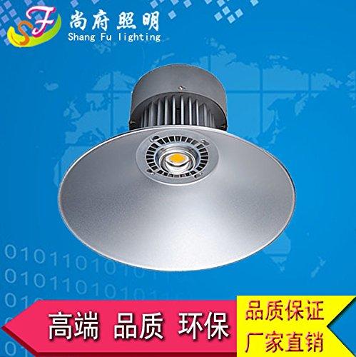 PinWei_ LED ad alta baia officina luci fabbrica luci magazzino laboratorio luce 20W50W80W100W210W lampada a (Legno Della Struttura Del Soffitto Apparecchio Apparecchio)