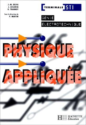 Physique appliquée, Terminale STI Génie électrotechnique