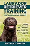 #6: Labrador Retriever Training: The Ultimate Guide to Training Your Labrador Retriever Puppy: Includes Sit, Stay, Heel, Come, Crate, Leash, Socialization, Potty Training and How to Eliminate Bad Habits