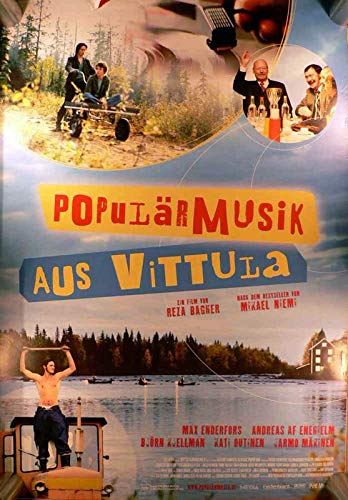 Populärmusik aus Vittula Filmplakat A1 84x60cm gerollt