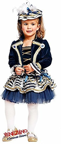 Fancy Me Super Deluxe Italienische Herstellung 4 Stück Mädchen Matrose Tutu Uniform Karneval Halloween Party Kostüm Kleid Outfit 0-12 Jahre - 5 Years (5 Stück Matrose Kostüme)