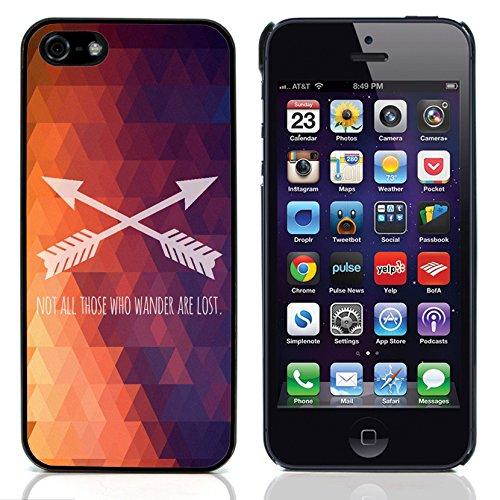 """Graphic4You """"Expect Nothing..."""" Life Proverb Zitat Design Harte Hülle Case Tasche Schutzhülle für Apple iPhone 5 und 5S Design #2"""