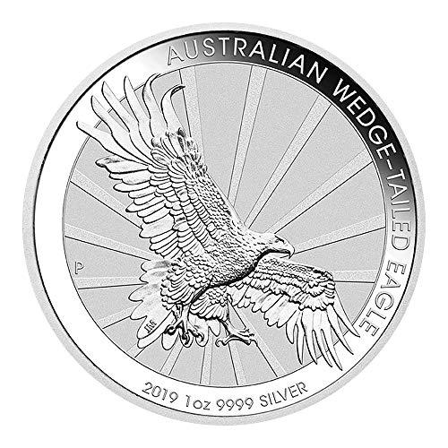 1 OZ Silber Silver Münze 1 UNZE - Wedge-Tailed Eagle 2019 -