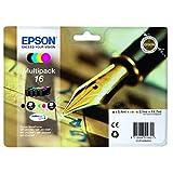 Epson original - Epson WorkForce WF-2650 DWF (16 / C13T16264022) - Tintenpatrone MultiPack (schwarz, cyan, magenta, gelb)