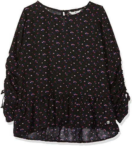 TOM TAILOR Kids Mädchen Langarmshirt Shirt/Blouse Allover 1/1, Mehrfarbig Multicolored 0003, 164