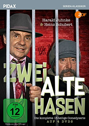 Zwei alte Hasen / Die komplette 15-teilige Kultserie mit Harald Juhnke und Heinz Schubert (Pidax Serien-Klassiker) [4 DVDs]