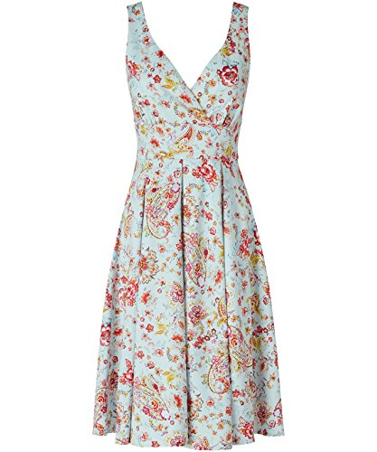 Joe Browns Lake Como Dress, Robe Femme Mint Multi