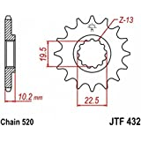 jtSprockets pignon Beta Alp 350 4.0 12 dents 520 JTF432.12