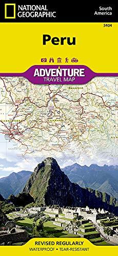Peru: NATIONAL GEOGRAPHIC Adventure Maps