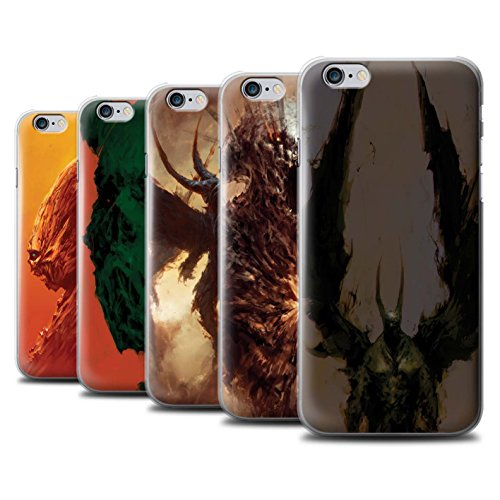 Offiziell Chris Cold Hülle / Case für Apple iPhone 6S+/Plus / Flügel von Nox Muster / Wilden Kreaturen Kollektion Pack 6pcs