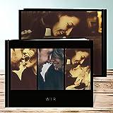 Fotobuch im vintage style, Fotobuch Trio I 28 Seiten, 14 Blatt, Hardcover 290x222 mm personalisierbar, Grau