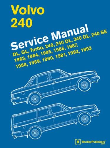 Volvo 240(Us) 1983-1993 por Bentley Publish