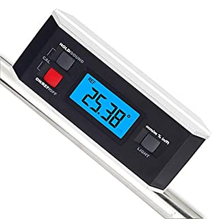 Inclinometer, RISEPRO® Digital Protractor Angle Finder Level Inclinometer Magnetic V-Groove 0~360 degree with Backlight 82413B