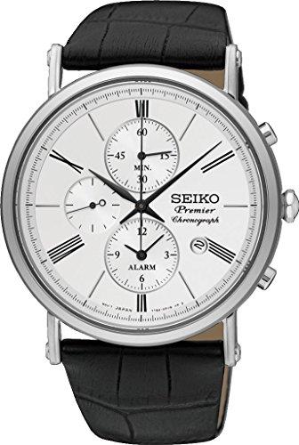 Seiko Quartz Premier Alarm Chronograph