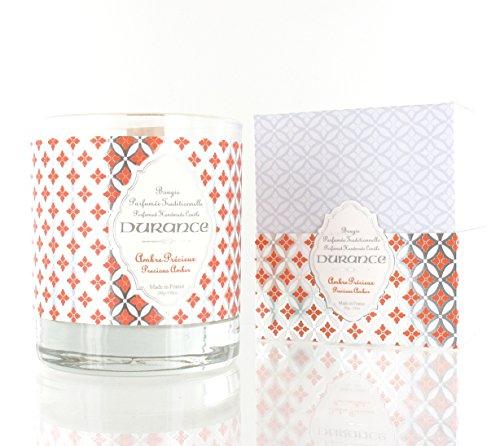 Durance – fragrance – Bougie parfumée 280 gr Ambre précieuse
