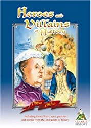Heroes and Villains of History 1799 AD-1901 AD (Colour, Keep & Learn)