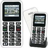 Mobiho Essentiel le CLASSIC MAX 3 - Un téléphone simple pour senior, pratique avec un beau design - Conviendra à un léger problème de préhension ou de dextérité - DEBLOQUE TOUT OPERATEUR....