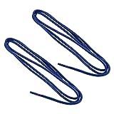 REMA 1 Paar Schnürsenkel - gewachst - rund - dünn - Ø ca. 2,0-2,5 mm Längen (90 cm, Königsblau)