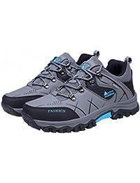 Ben Sports gris Zapatillas de senderismo Botas de senderismo Correr en montaña de Hombre,39