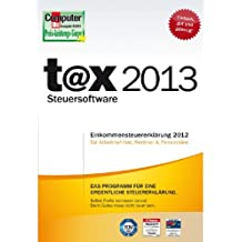 t@x 2013 (für Steuerjahr 2012) [Download]