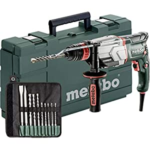 Metabo UHE 2660-2 rotary hammers Sin llave 2500 RPM 800 W – Martillo perforador (Sin llave, 2,6 cm, 2500 RPM, 2,8 J, 4200 ppm, 1,3 cm)