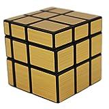 MEISHINE® Dorado Mirror Cube Cubo Mágico Inteligencia Mágico cubo de la velocidad Juego de Puzzle Cube Speed Magic Cube Stickerless