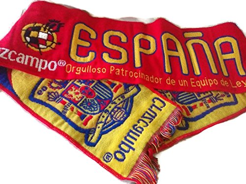 Bufanda España Cruzcampo Patrocinador