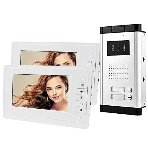 HFeng 7 '' intercomunicación Video portero puerta