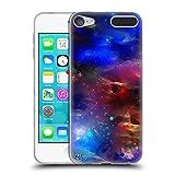 Head Case Designs Offizielle Runa Kosmisches Blau Lebendig Soft Gel Hülle für Apple iPod Touch 6G 6th Gen