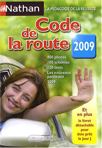 CODE DE LA ROUTE NATHAN 2009 par COLLECTIF